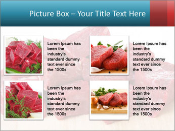 Raw beef PowerPoint Templates - Slide 14