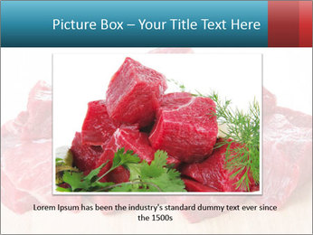 Raw beef PowerPoint Templates - Slide 15