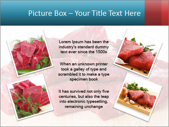 Raw beef PowerPoint Templates - Slide 24