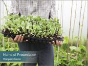 Organic Farmer PowerPoint Template