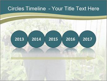 Organic Farmer PowerPoint Templates - Slide 29