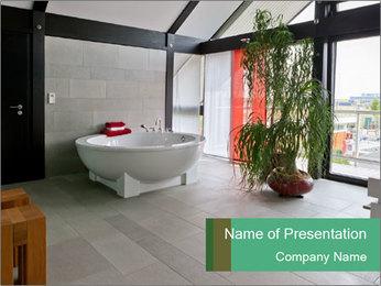 Beautiful interior PowerPoint Template - Slide 1