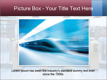 Railway station PowerPoint Template - Slide 16