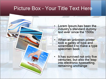 Railway station PowerPoint Template - Slide 17