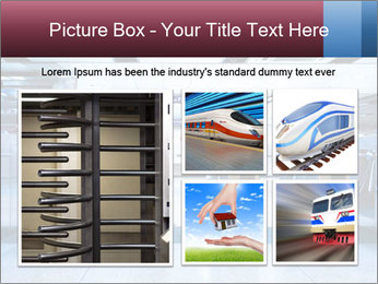 Railway station PowerPoint Template - Slide 19