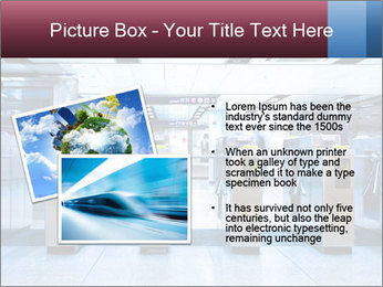 Railway station PowerPoint Template - Slide 20