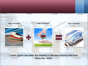 Railway station PowerPoint Template - Slide 22