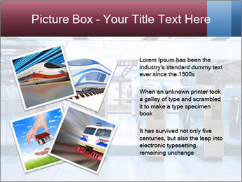 Railway station PowerPoint Template - Slide 23
