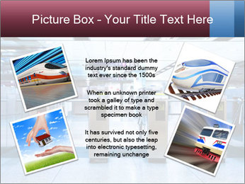 Railway station PowerPoint Template - Slide 24