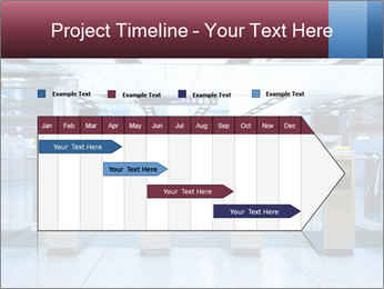Railway station PowerPoint Template - Slide 25