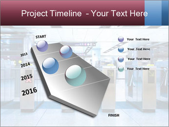 Railway station PowerPoint Template - Slide 26