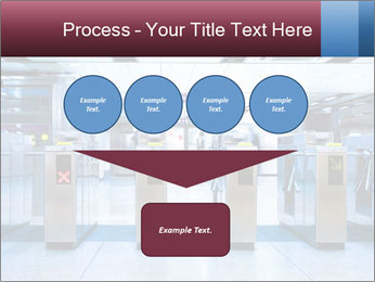 Railway station PowerPoint Template - Slide 93