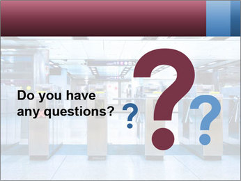 Railway station PowerPoint Template - Slide 96