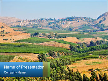 North Israel PowerPoint Template - Slide 1