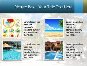 Beautiful tropical beach PowerPoint Template - Slide 14