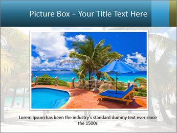 Beautiful tropical beach PowerPoint Template - Slide 15