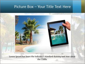 Beautiful tropical beach PowerPoint Template - Slide 16