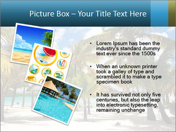 Beautiful tropical beach PowerPoint Template - Slide 17