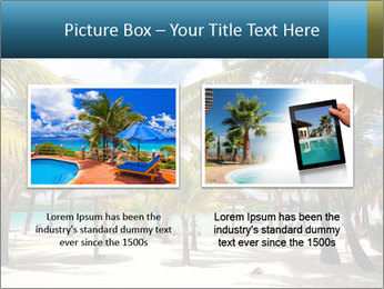 Beautiful tropical beach PowerPoint Template - Slide 18