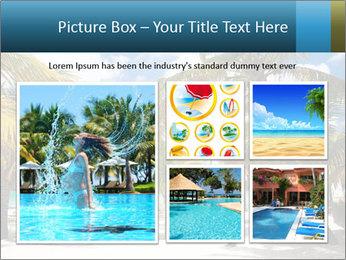 Beautiful tropical beach PowerPoint Template - Slide 19