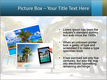 Beautiful tropical beach PowerPoint Template - Slide 20