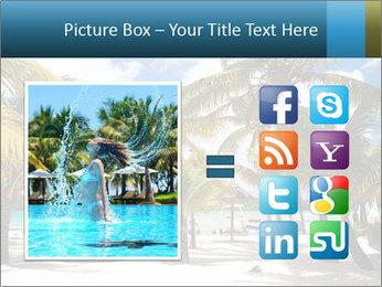 Beautiful tropical beach PowerPoint Template - Slide 21