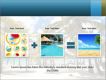 Beautiful tropical beach PowerPoint Template - Slide 22