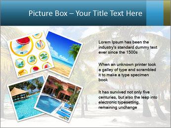 Beautiful tropical beach PowerPoint Template - Slide 23