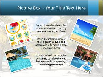 Beautiful tropical beach PowerPoint Template - Slide 24