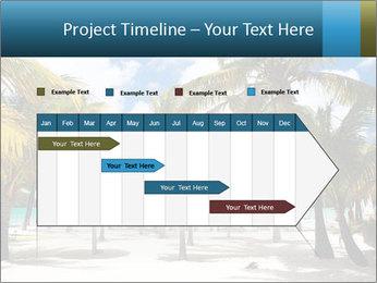 Beautiful tropical beach PowerPoint Template - Slide 25