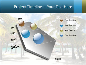 Beautiful tropical beach PowerPoint Template - Slide 26