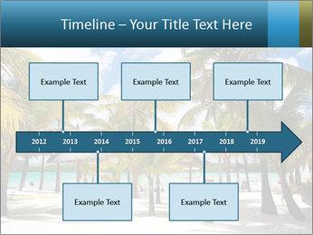 Beautiful tropical beach PowerPoint Template - Slide 28