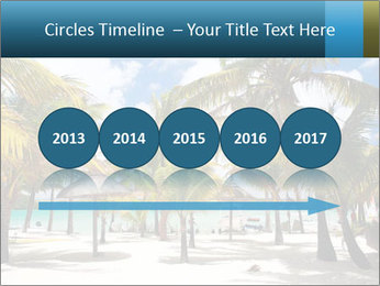 Beautiful tropical beach PowerPoint Template - Slide 29