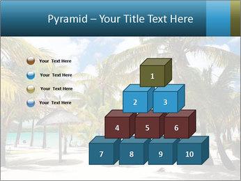 Beautiful tropical beach PowerPoint Template - Slide 31