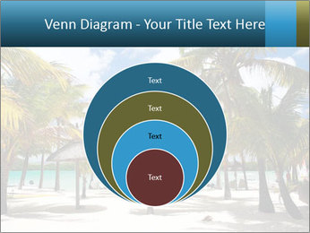Beautiful tropical beach PowerPoint Template - Slide 34