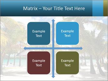 Beautiful tropical beach PowerPoint Template - Slide 37
