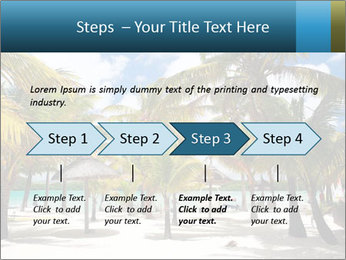 Beautiful tropical beach PowerPoint Template - Slide 4