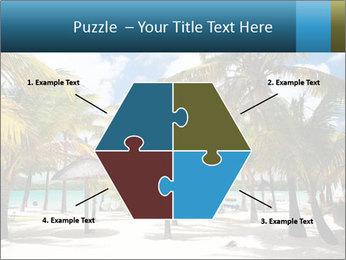 Beautiful tropical beach PowerPoint Template - Slide 40