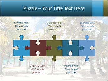 Beautiful tropical beach PowerPoint Template - Slide 41