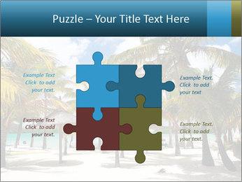 Beautiful tropical beach PowerPoint Template - Slide 43
