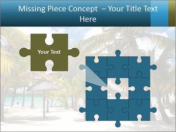 Beautiful tropical beach PowerPoint Template - Slide 45