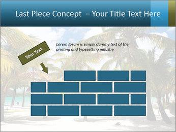 Beautiful tropical beach PowerPoint Template - Slide 46