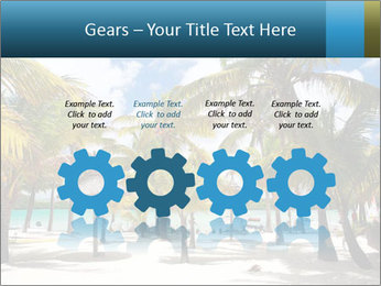 Beautiful tropical beach PowerPoint Template - Slide 48