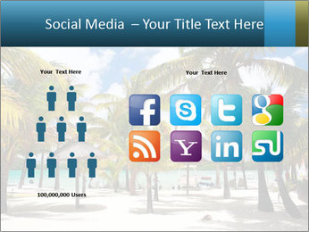 Beautiful tropical beach PowerPoint Template - Slide 5