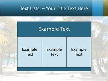 Beautiful tropical beach PowerPoint Template - Slide 59