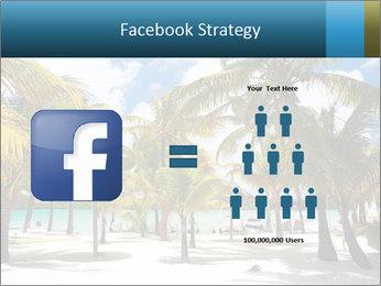 Beautiful tropical beach PowerPoint Template - Slide 7