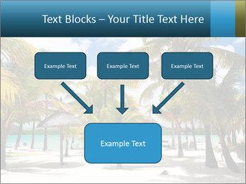 Beautiful tropical beach PowerPoint Template - Slide 70