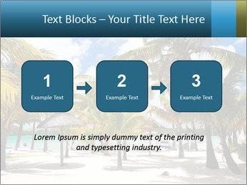 Beautiful tropical beach PowerPoint Template - Slide 71