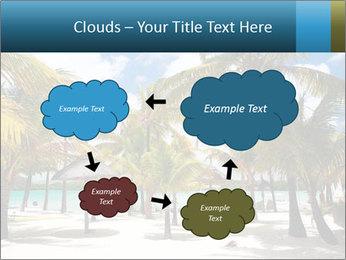 Beautiful tropical beach PowerPoint Template - Slide 72