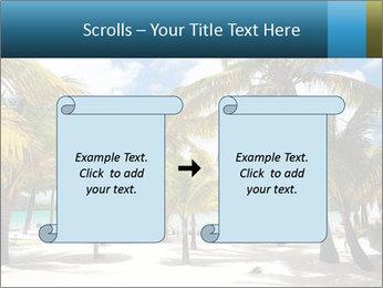 Beautiful tropical beach PowerPoint Template - Slide 74